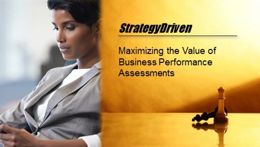 StrategyDriven Business Performance Assessment Training Series