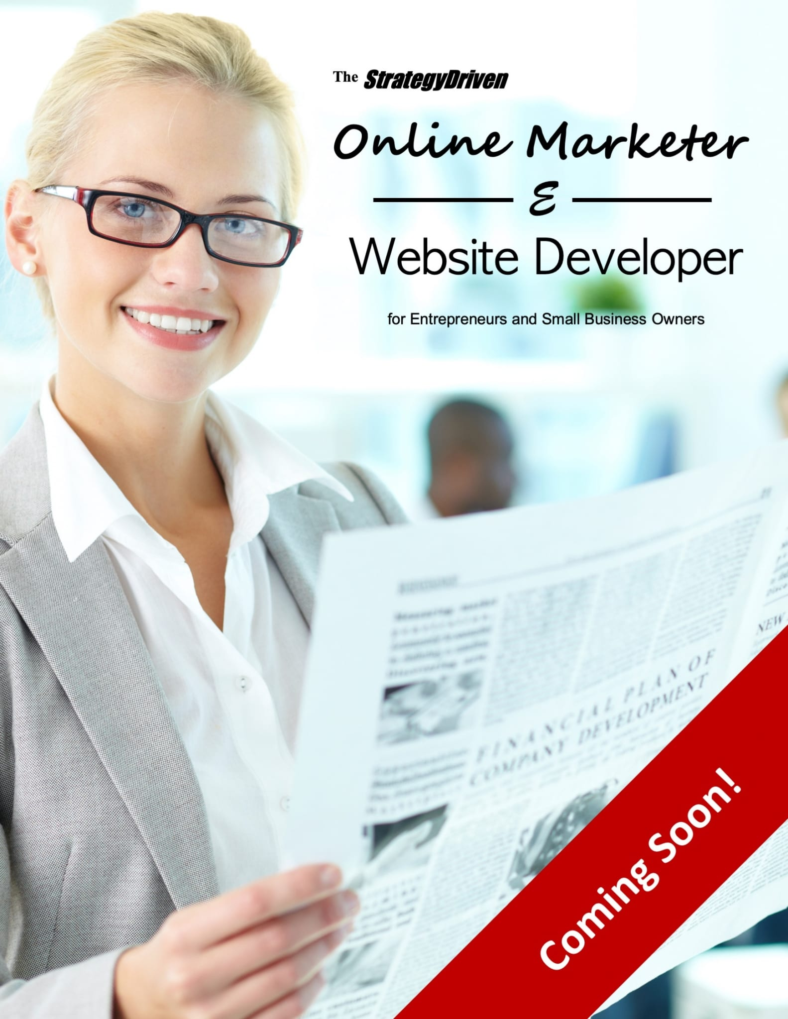 StrategyDriven Online Marketer & Website Developer Magazine - Coming Soon