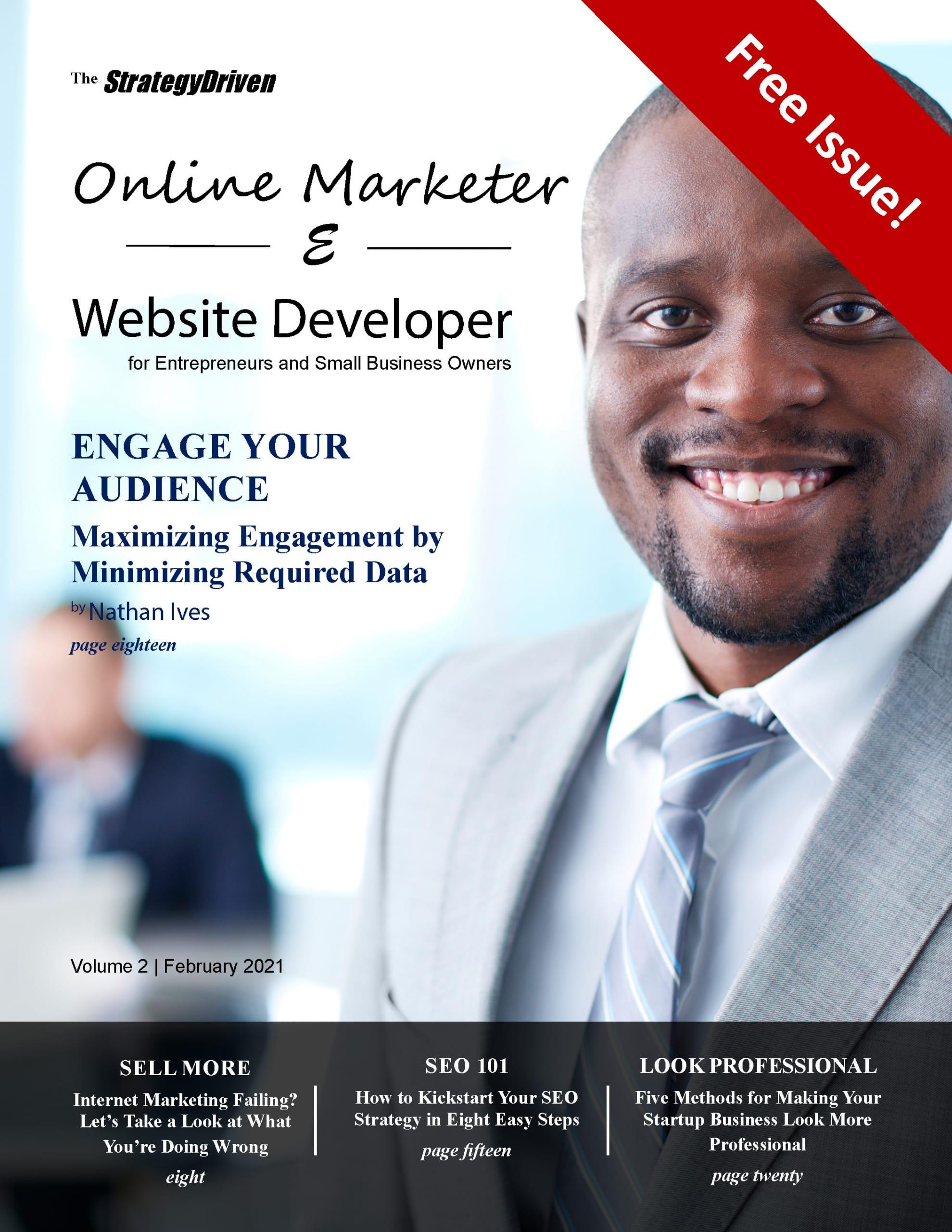 StrategyDriven Online Marketer & Website Developer – Volume 2, February 2021
