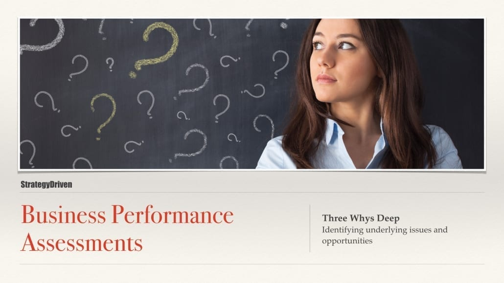 StrategyDriven Maximizing the Value of Business Performance Assessments Online Training Program
