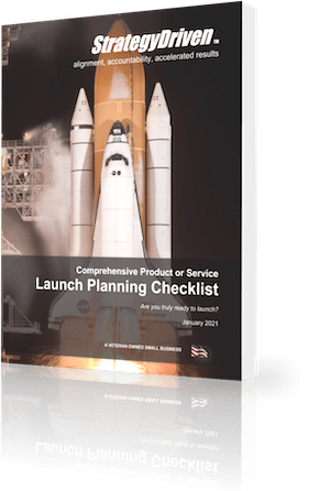 StrategyDriven Marketing and Sales Checklist | StrategyDriven's Comprehensive Product or Service Launch Planning Checklist