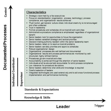 StrategyDriven Corporate Cultures Article | Corporate Cultures - Leader Initiated, Documented Processes Controlled Environment