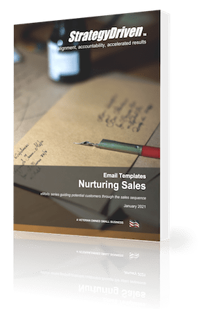 StrategyDriven Marketing and Sales Template | StrategyDriven's Nurturing Sales eMail Templates