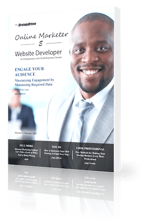 StrategyDriven Online Marketer & Website Developer - Volume 2, February 2021