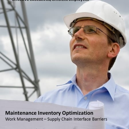 SDE Maintenance Inventory Optimization, WM-SC Interface Barriers