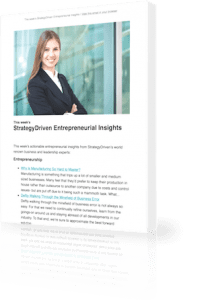 StrategyDriven Entrepreneurial Insights Newsletter