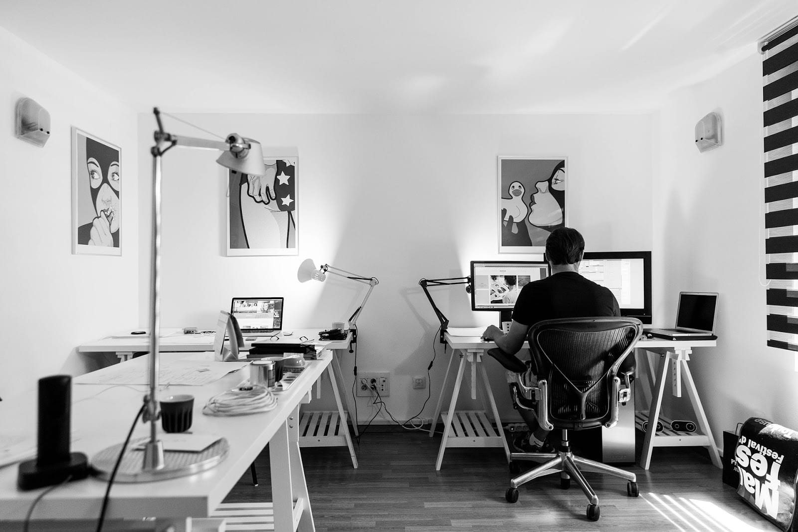 StrategyDriven Starting Your Business Article | 5 Ways to Convert Your Garage Into a Home Office